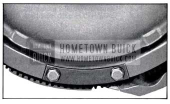 1958 Buick Installation of Balance Weight