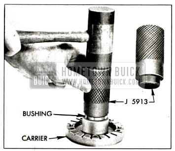 1958 Buick Installing Bushing in Blade Carrier