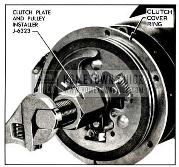 1958 Buick Installing Clutch Plates