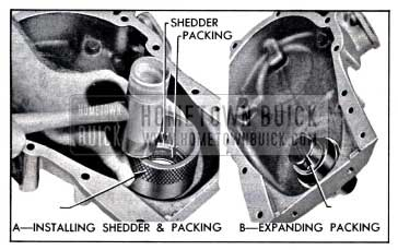 1958 Buick Installing Crankshaft Oil Seal