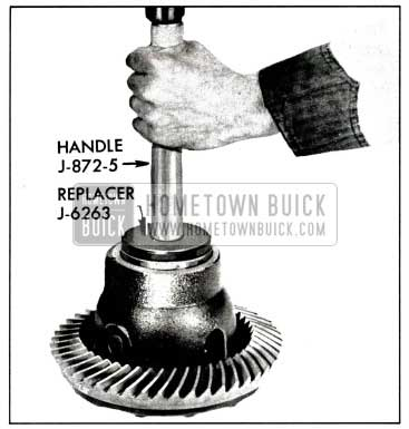 1958 Buick Installing Differential Bearing Outer Race