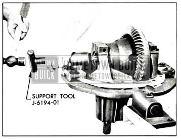 1958 Buick Installing Differential Bearing Supports