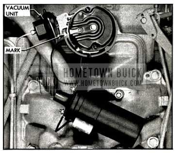 1958 Buick Installing Distributor In Engine