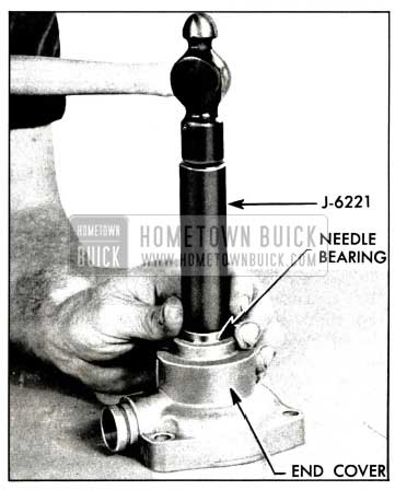 1958 Buick Installing End Cover Needle Bearing