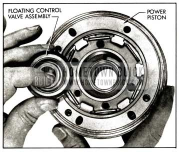 1958 Buick Installing Floating Control Valve and Diaphragm Assembly