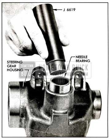 1958 Buick Installing Needle Bearing