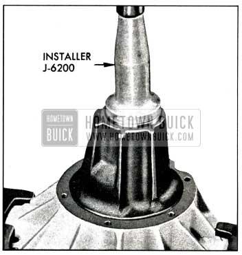 1958 Buick Installing Pinion Seat