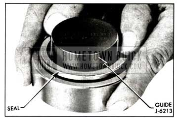 1958 Buick Installing Rear Wheel Bearing Oil Seal