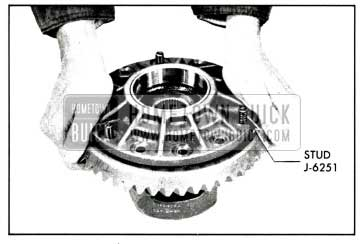1958 Buick Installing Ring Gear on Differential Case