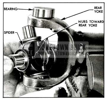 1958 Buick Installing Spider In Rear Yoke