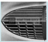 1958 Buick Instrument Panel Air Outlets