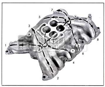 1958 Buick Intake Manifold Distribution
