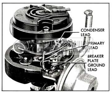 1958 Buick Locating Leads in Distributor