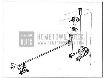 1958 Buick Lubrication of Door Locking Mechanism