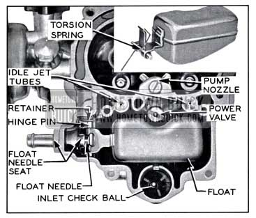 1958 Buick Main Carburetor Body Parts
