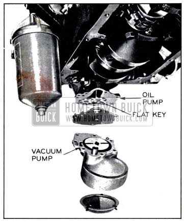 1958 Buick Oil and Vacuum Pump and Screen