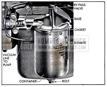 1958 Buick Oil Filter Installation