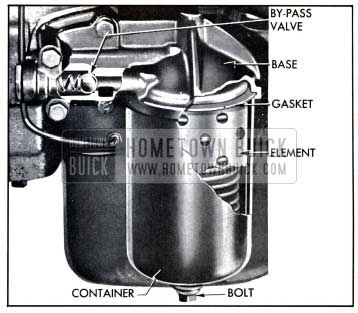 1958 Buick Oil Filter