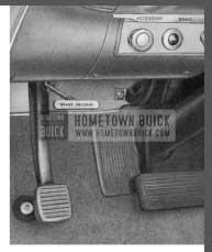 1958 Buick Parking Brake