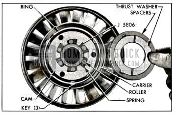 1958 Buick Parts in Rear Side of Stator