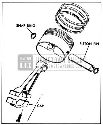 1958 Buick Piston and Rod Assembly