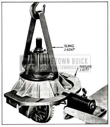 1958 Buick Placing Carrier In Holding Fixture