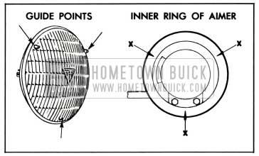 1958 Buick Positioning Headlamp Aimer