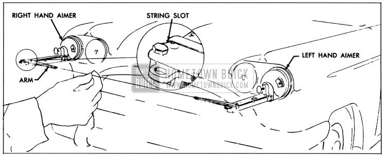 1958 Buick Positioning String