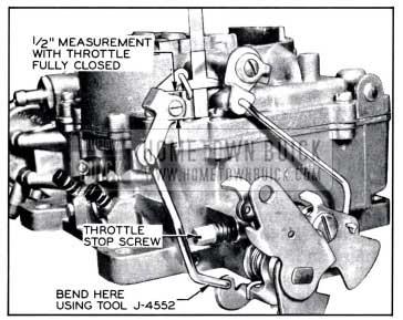1958 Buick Pump Adjustment