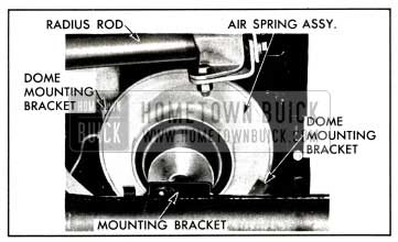 1958 Buick Rear Air Spring Mounting