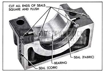 1958 Buick Rear Bearing Oil Seals