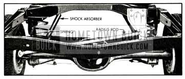 1958 Buick Rear Wheel Suspension
