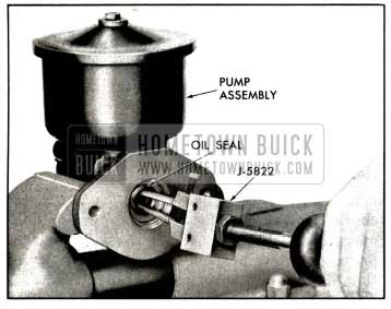 1958 Buick Removal of Drive Shaft Seal - Air Poise Pump