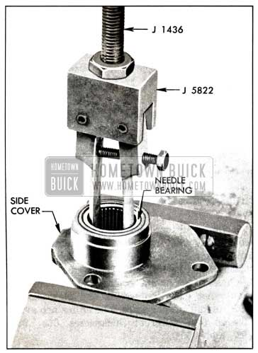 1958 Buick Removal of Needle Bearing