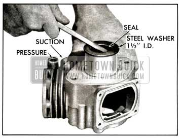 1958 Buick Remove Front Oil Seal