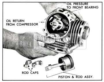1958 Buick Remove Pistons and Rods