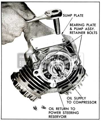 1958 Buick Remove Sump Plate
