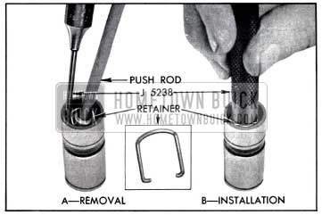 1958 Buick Removing and Installing Plunger Retainer