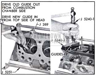 1958 Buick Removing and Installing Valve Guide