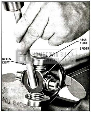 1958 Buick Removing Bearing from Rear Yoke