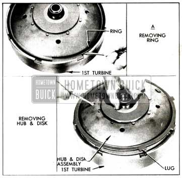 1958 Buick Removing Disk and Hub Assembly