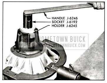 1958 Buick Removing Pinion Nut
