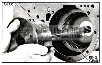 1958 Buick Removing Planetary Gear Set