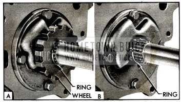 1958 Buick Removing Ratchet Wheel Retaining Ring
