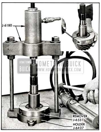 1958 Buick Removing Rear Pinion Bearing