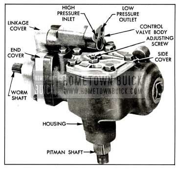 1958 Buick Right Side of Power Steering Gear Assembly