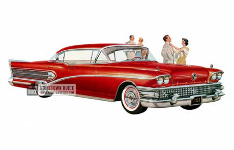 1958 Buick Roadmaster 75 Riviera - Model 75 HB