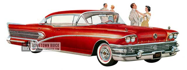 1958 Buick Roadmaster 75 Riviera - Model 75