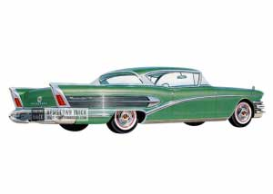 1958 Buick Roadmaster 75 Riviera - Model 75R HB