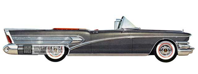 1958 Buick Roadmaster Convertible - Model 75C